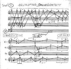 Stockhausen - Helikopter Streich Quartett
