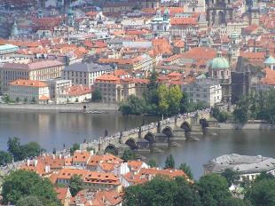 Vltava em Praga