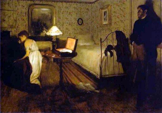 Edgar Degas: O Estupro