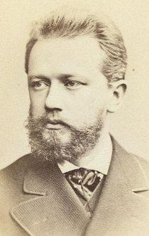 Tchaikovsky, por volta de 1880