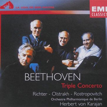 Sviatoslav Richter sobre a gravação do Concerto Tríplice de Beethoven com Karajan