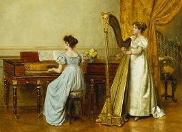 George Kilburne: A Sala de Música