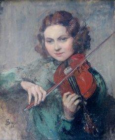 J. Simon: Retrato de Yolanda Ostaszewska