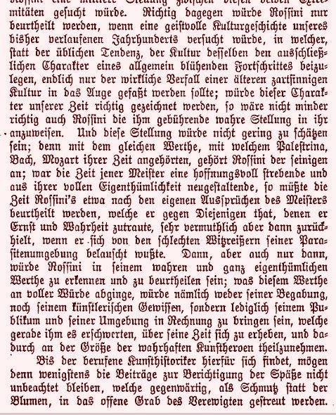 Eine Erinnerung an Rossini, 1868