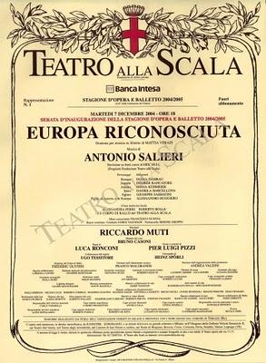 Europa renasce no Scala