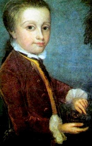 Mozart, nas mãos da ciência desde criança