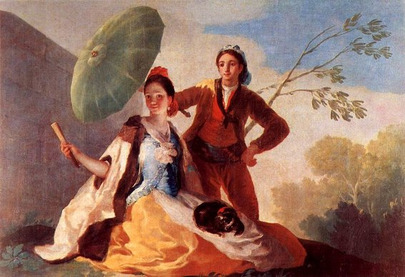 Goya-Sonnenschirm