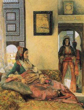 John Frederick Lewis: As Mil e Uma Noites (Noites Árabes)