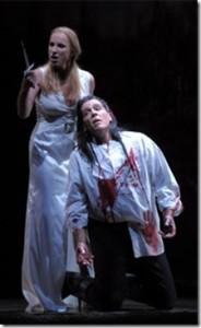 Thomas Hampson como MacBeth e Nadja Michael como a Lady: ninguém segura esses dois