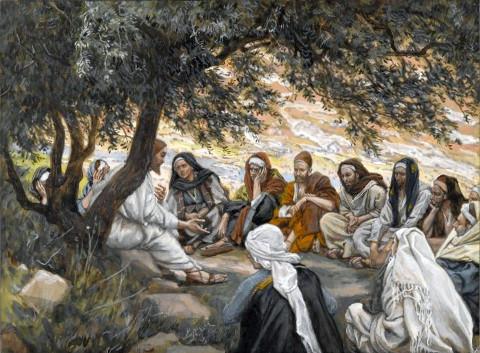 James Tissot: Exortação aos apóstolos