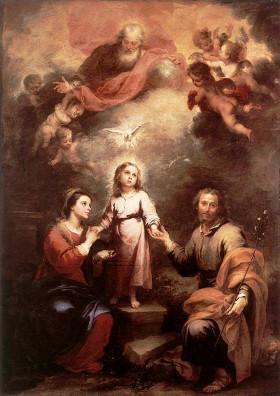 Bartolomé Esteban Murillo: As duas Trindades