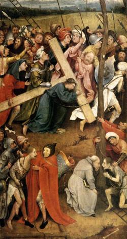 Jheronimus Bosch: Cristo carregando a cruz