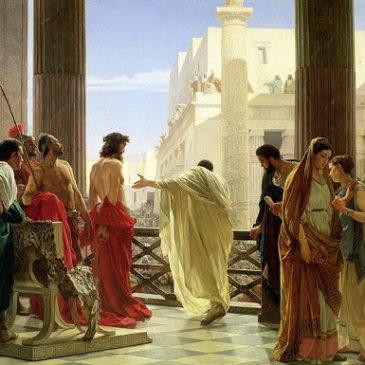 Os segredos da Paixão segundo São Mateus – 8. O julgamento diante de Pilatos