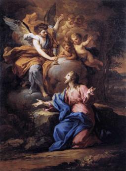 Sebastiano Conca: Cristo no Jardim do Getsêmani