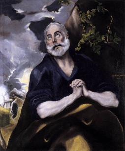 El Greco: As lágrimas de São Pedro