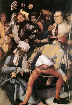 Matthias Grünewald: A zombaria de Jesus