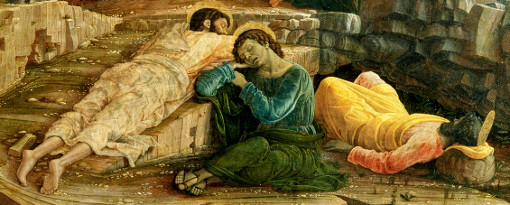 Andrea Mantegna: Cristo no Monte das Oliveiras (detalhe)