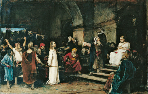 Mihály von Munkácsy: Cristo diante de Pilatos