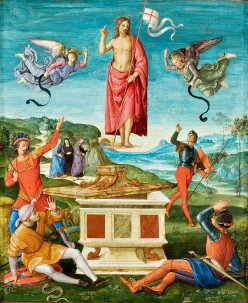 Raffaello Sanzio: A ressurreição de Cristo