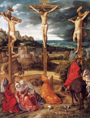 Giovanni Gerolamo Savoldo: Cristo na cruz