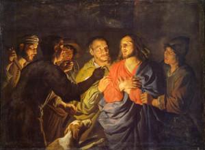 Matthias Stom: A prisão de Cristo