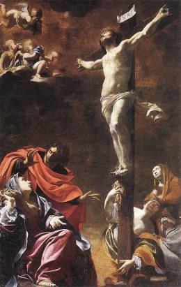 Simon Vouet: A crucificação