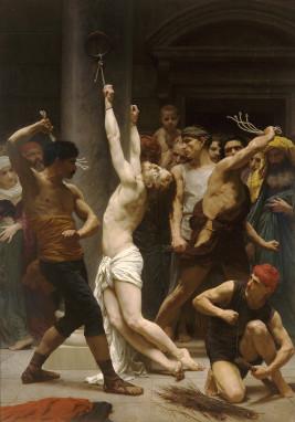 William-Adolphe Bouguereau: A flagelação de Nosso Senhor Jesus Cristo