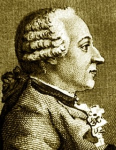 Barão von Grimm, que Mozart conheceu na sua juventude em Paris.