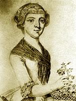 Maria Anna Thekla Mozart (1758-1841), conhecida como Bäsle, prima com quem Mozart trocou cartas nada tímidas...