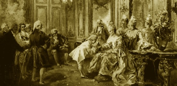 Mozart com Madame de Pompadour