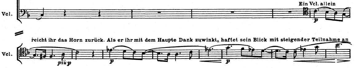 Motivo de Siegmund antes do Motivo do Amor