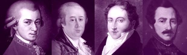 Mozart Cimarosa Rossini Donizetti