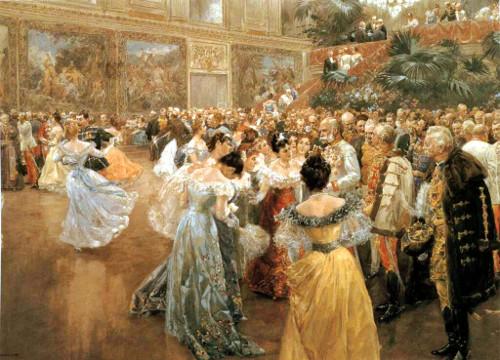 Wilhelm Gause: Baile no Palácio Imperial de Viena