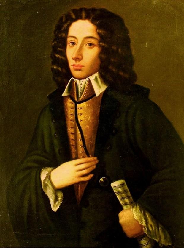 """Giovanni Battista Pergolesi (1710-1736), considerado por muitos especialistas como o """"pai"""" da ópera cômica."""