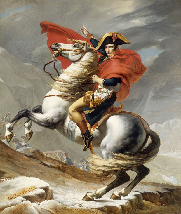 761px-Jacques_Louis_David_-_Bonaparte_franchissant_le_Grand_Saint-Bernard,_20_mai_1800_-_Google_Art_Project