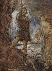 Arthur Rackham - Siegmund
