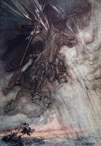 Arthur Rackham - Wotan