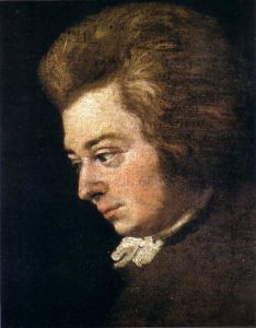 Mozart (Joseph Lange, 1780).