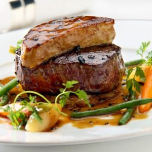 Tournedos Rossini.