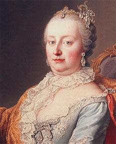 Maria Teresa da Áustria por Martin van Meyters (1759).