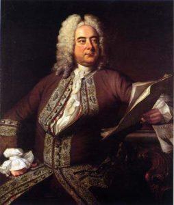 Händel por Thomas Hudson, 1741.