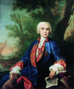 Farinelli por Corrado Giaquinto, c. 1755.