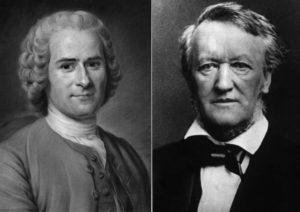 Rousseau e Wagner, em defesa da poesia na ópera.